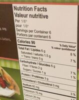 Almond pie shell - Nutrition facts - fr