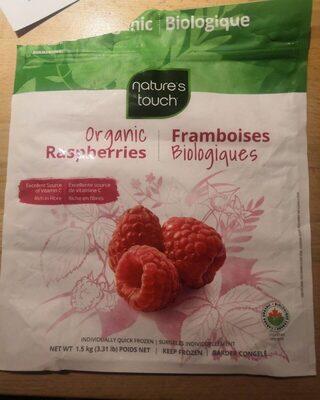 Framboises biologiques - Produit - fr