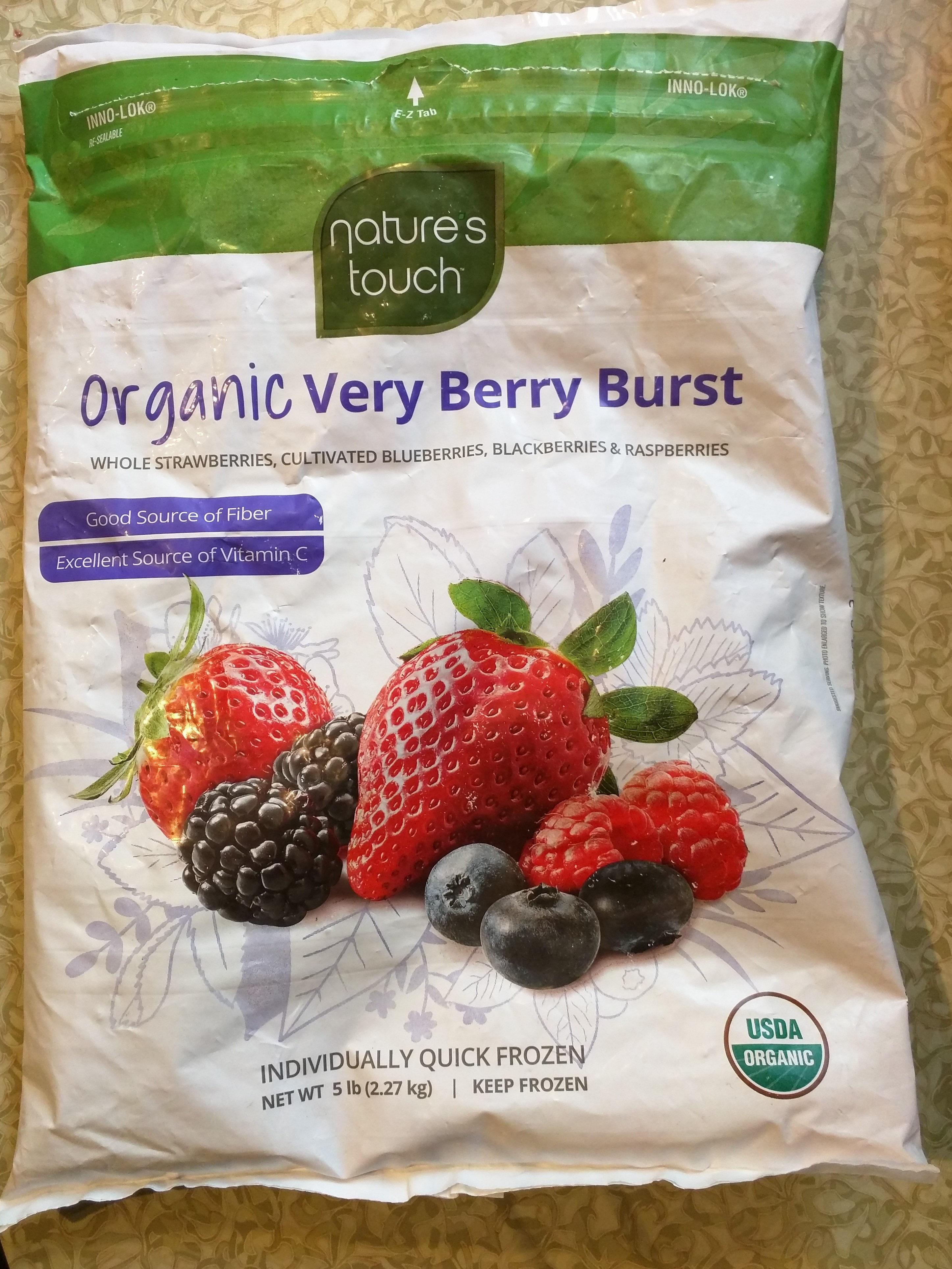 Organic very berry burst - Product - en