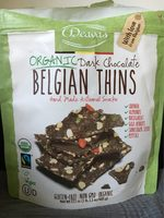 Deavas, dark chocolate belgian thins - Product - en