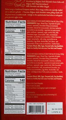 Tuiles - Ingredients