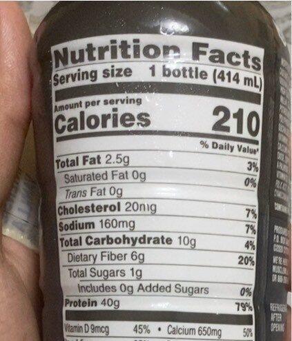 Non Dairy Protein Shake, Vanilla - Valori nutrizionali - en