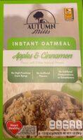 Instant Oatmeal Apple & Cinnamon - Product - en