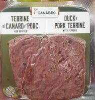 Terrine de canard et porc - Produit - fr
