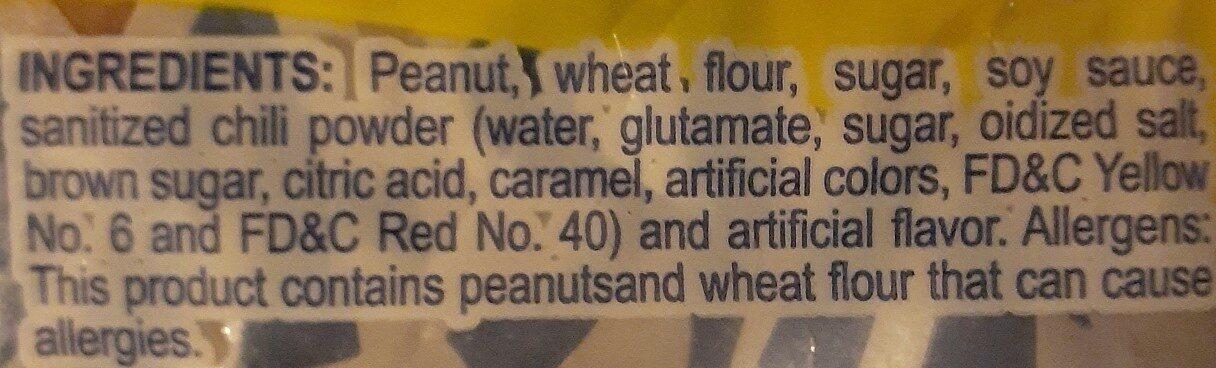 jap peanuts - Ingredients - en