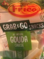 All natural mild & creamy gouda cheese grab & go snacks, gouda, mild & creamy - Product - en