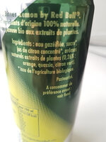 Organics Bitter Lemon - Ingredients