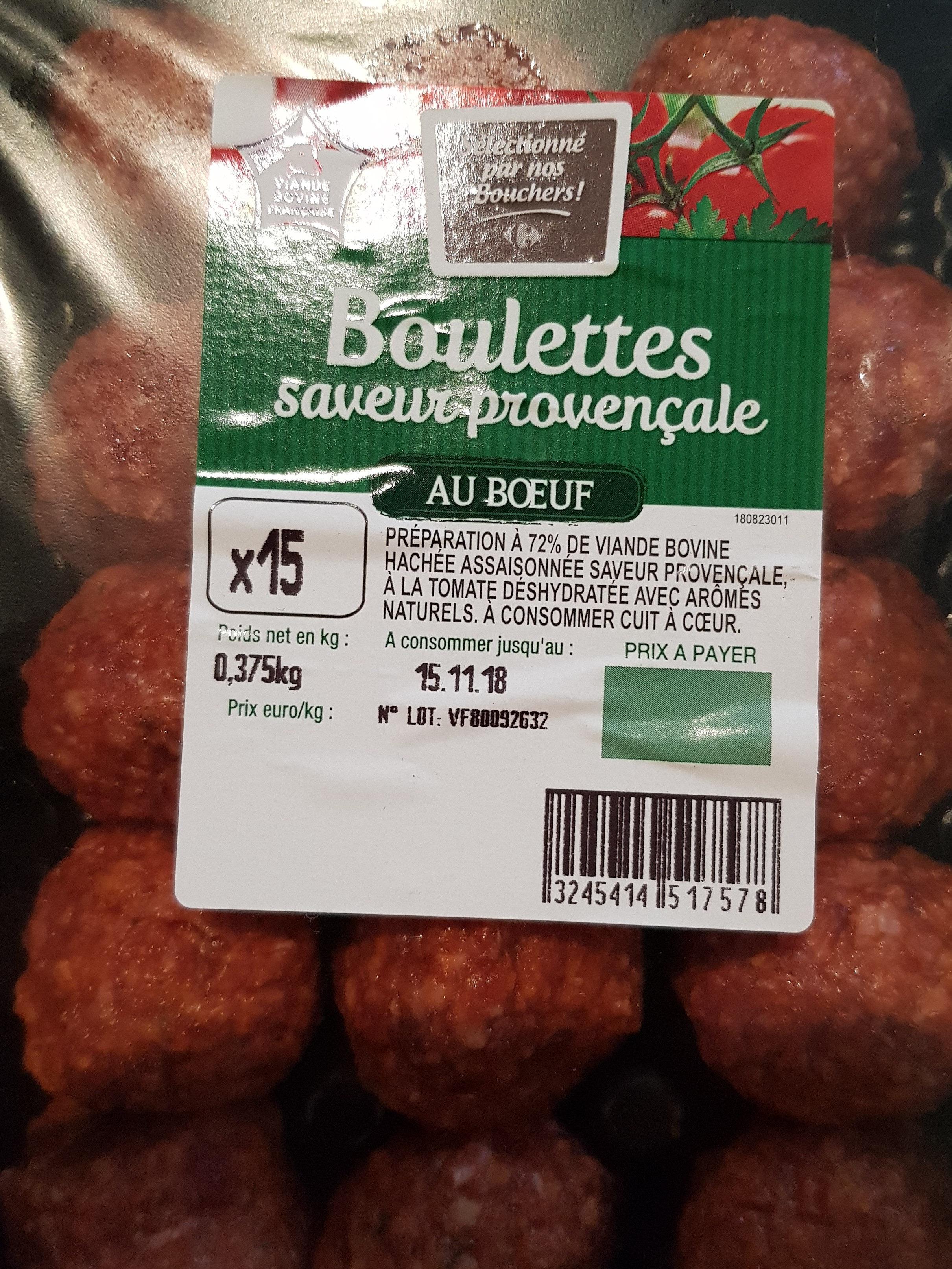 boulettes provençales - Product