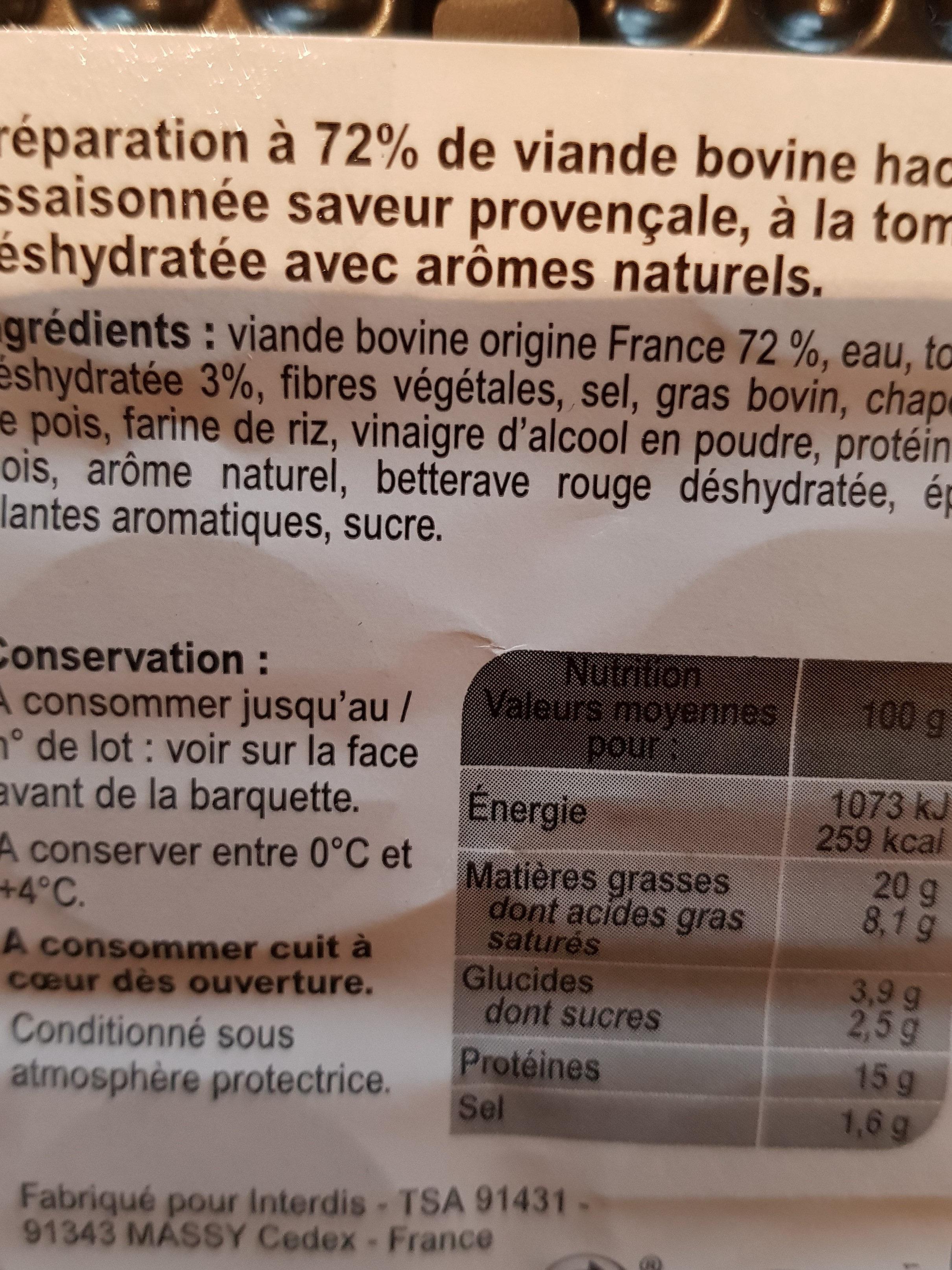 boulettes provençales - Ingredients