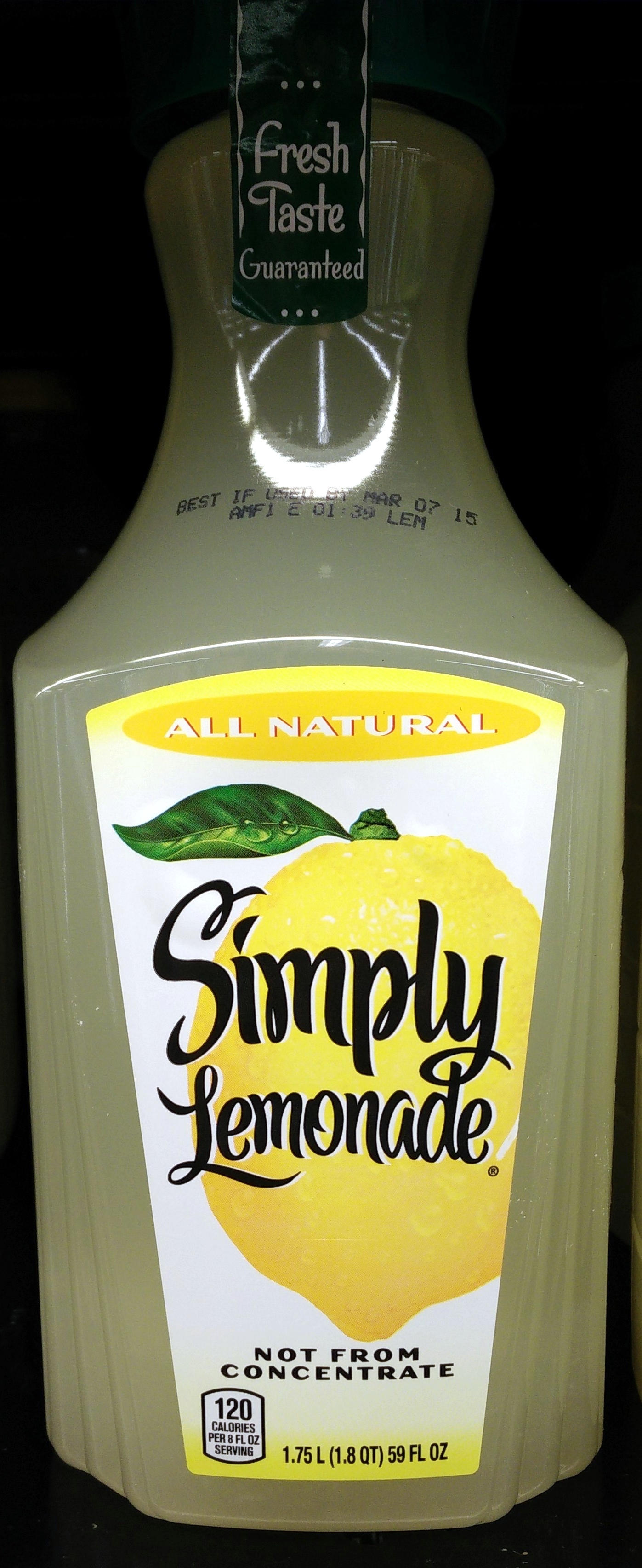 Simply Lemonade - Product - en