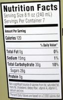 Simply Lemonade - Nutrition facts - en