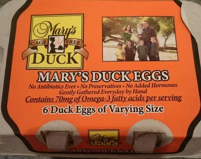 Mary's duck eggs - Product