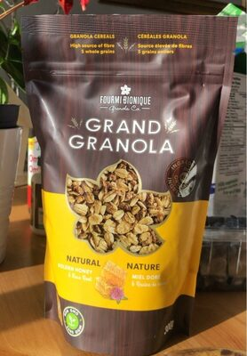 Gourmet Granola Nature - Product - fr