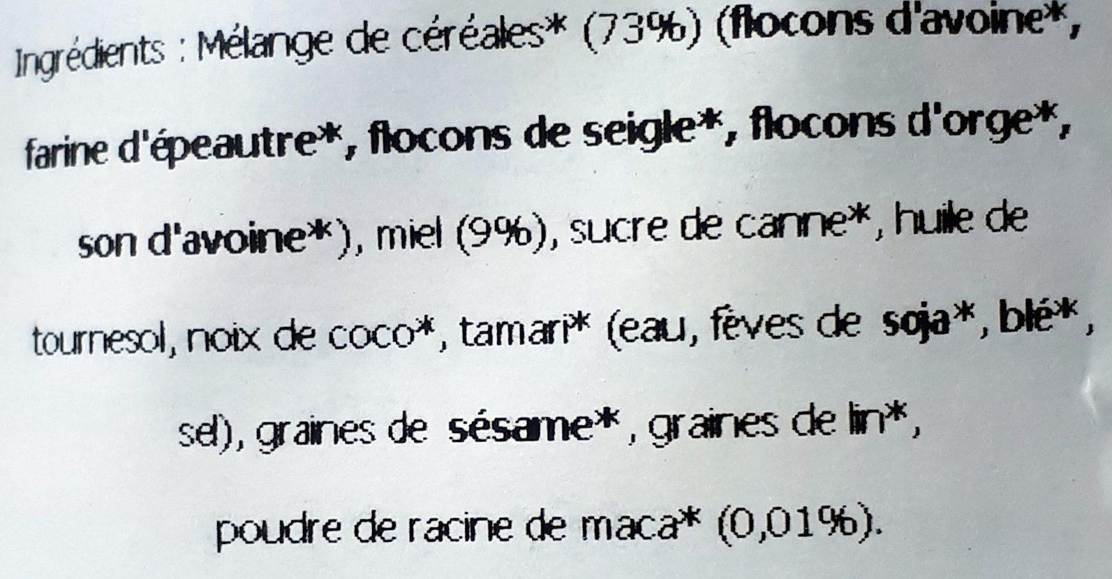 Gourmet Granola Nature - Ingredients - fr