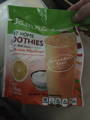 At Home Smoothies, Orange Dream Machine - Nutrition facts