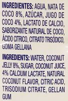 Coco Pure Premium - Ingredients