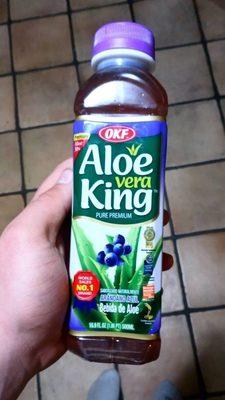 Aloe vera aux Bleuet - Product - fr
