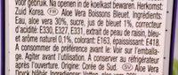 Aloe vera aux Bleuet - Ingredients - fr