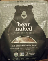 dark chocolate hazelnut butter premium granola - Product
