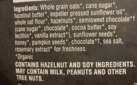 dark chocolate hazelnut butter premium granola - Ingredients
