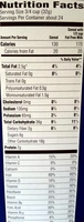 Honey Bunches of Oats - Nutrition facts
