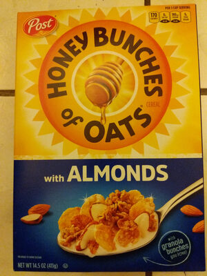 Cereal with Almonds - Product