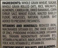 Great Grains, Whole Grain Cereal, Crunchy Pecans - Ingredients