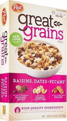 Post raisins - Produit - en