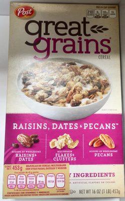 Post raisins - Producto - es