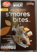 Frosted s'mores bites cereal, chocolate chips - Producto - es