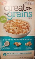 Great grains- coconut almond crunch - Product