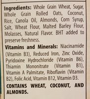 Great grains- coconut almond crunch - Ingrediënten