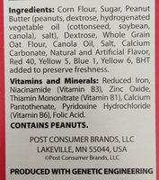 Cereal - Ingredients - en