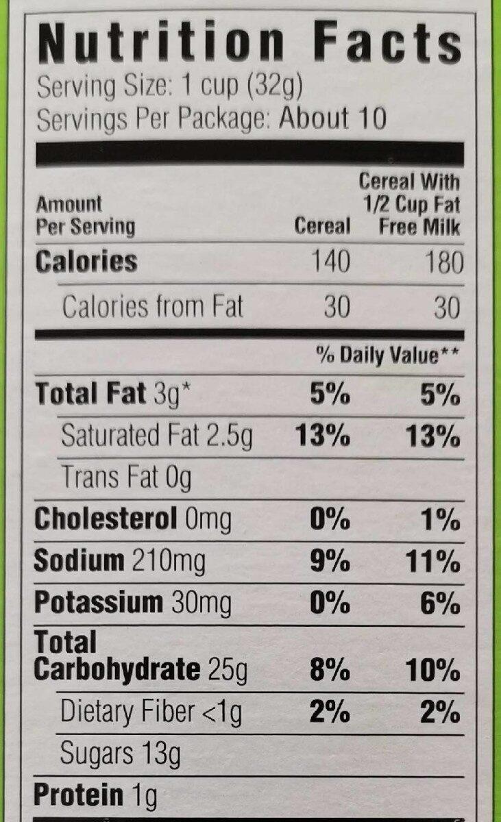 Sour Patch Kids - Nutrition facts - fr