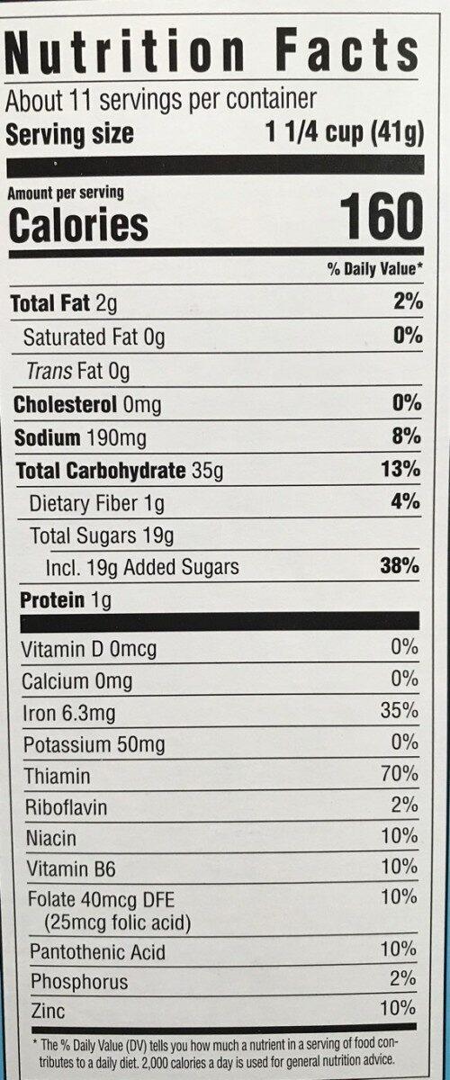 Oreo o's - Voedingswaarden