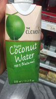 The Elements : Pure Coconut Water - Producto