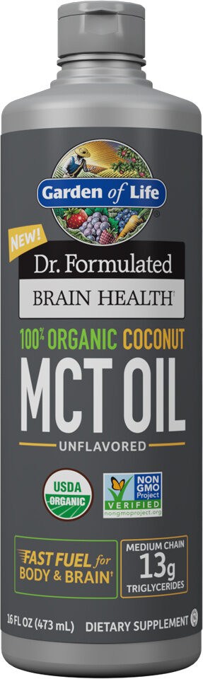 Organic coconut MCT oil - Produit - fr