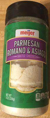 Parmesan Romano & Asiago - Product
