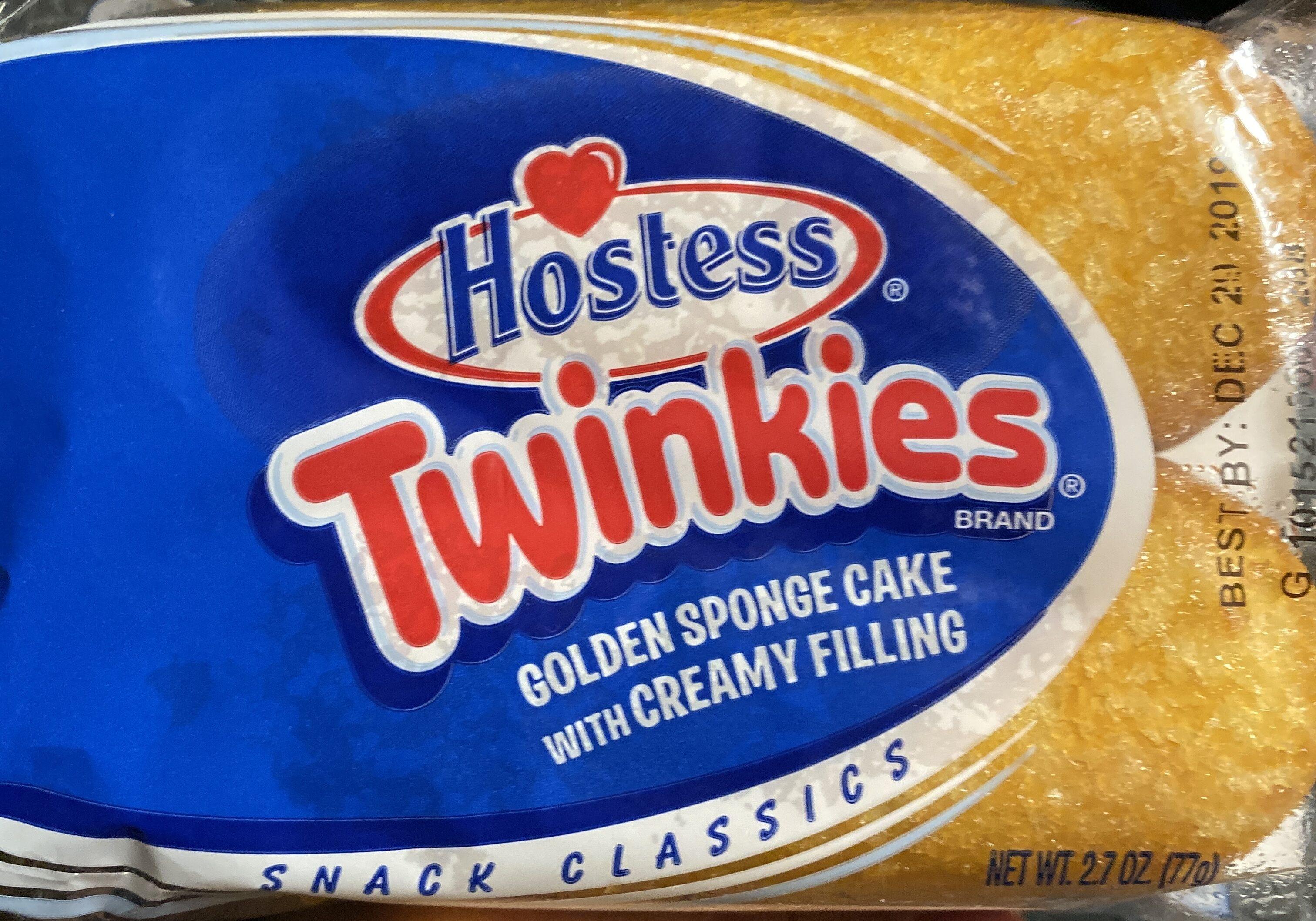 Golden sponge cake with creamy filling - Product - en