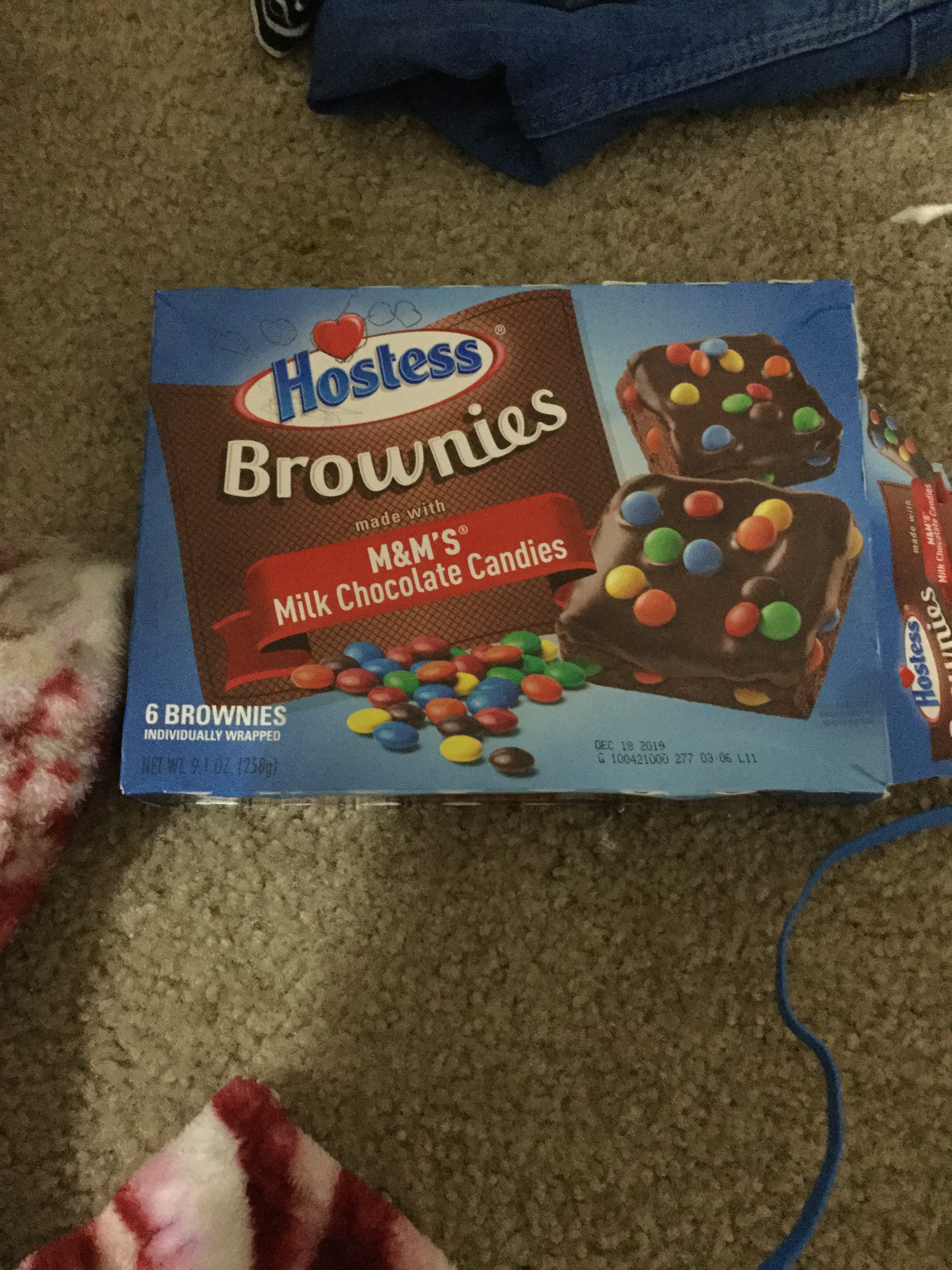 Brownies Made With Milk Chocolate M&M's - Product - en