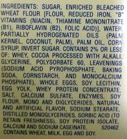 Hohos - Ingredients