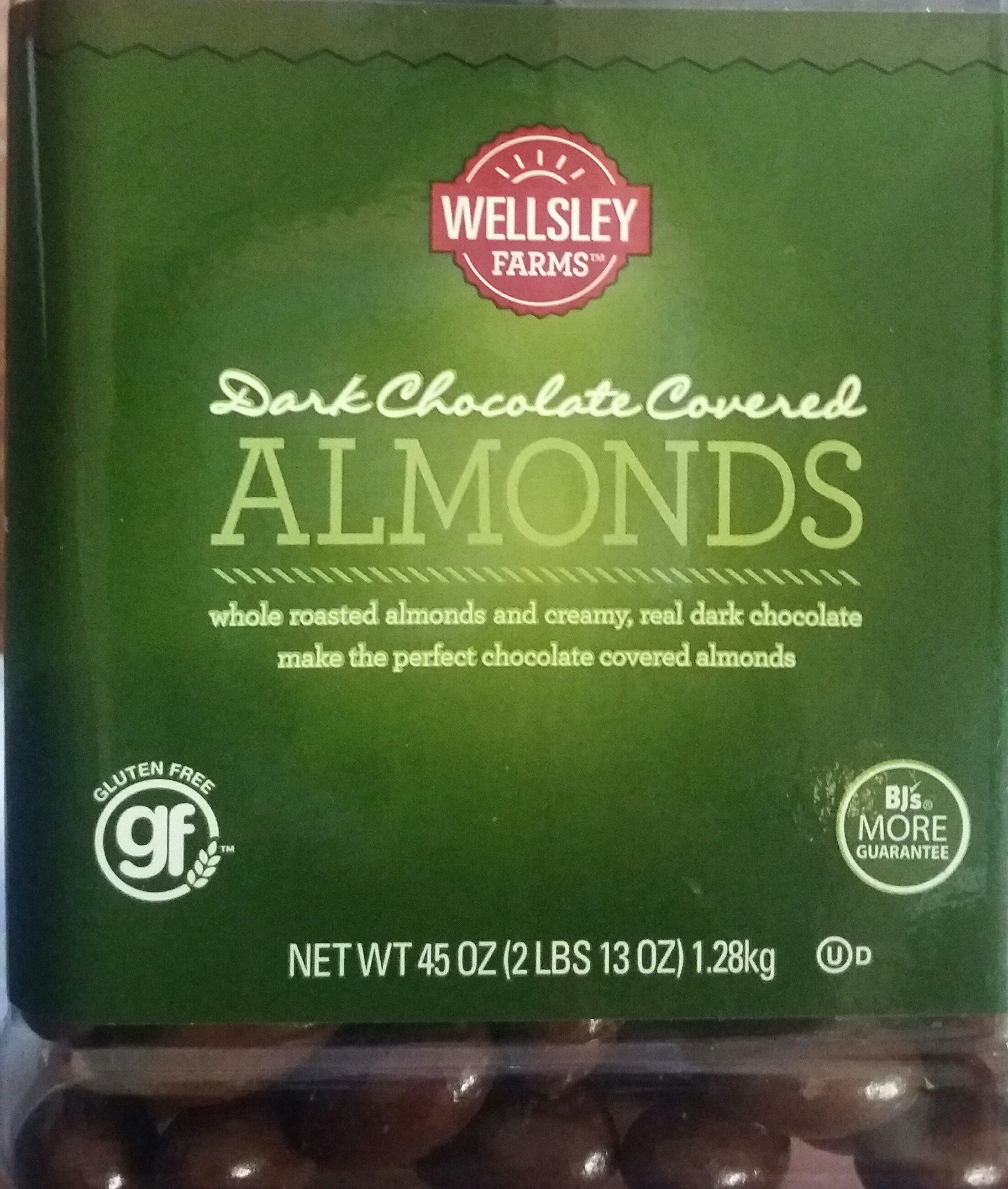 Chocolate covered almonds, chocolate - Product - en