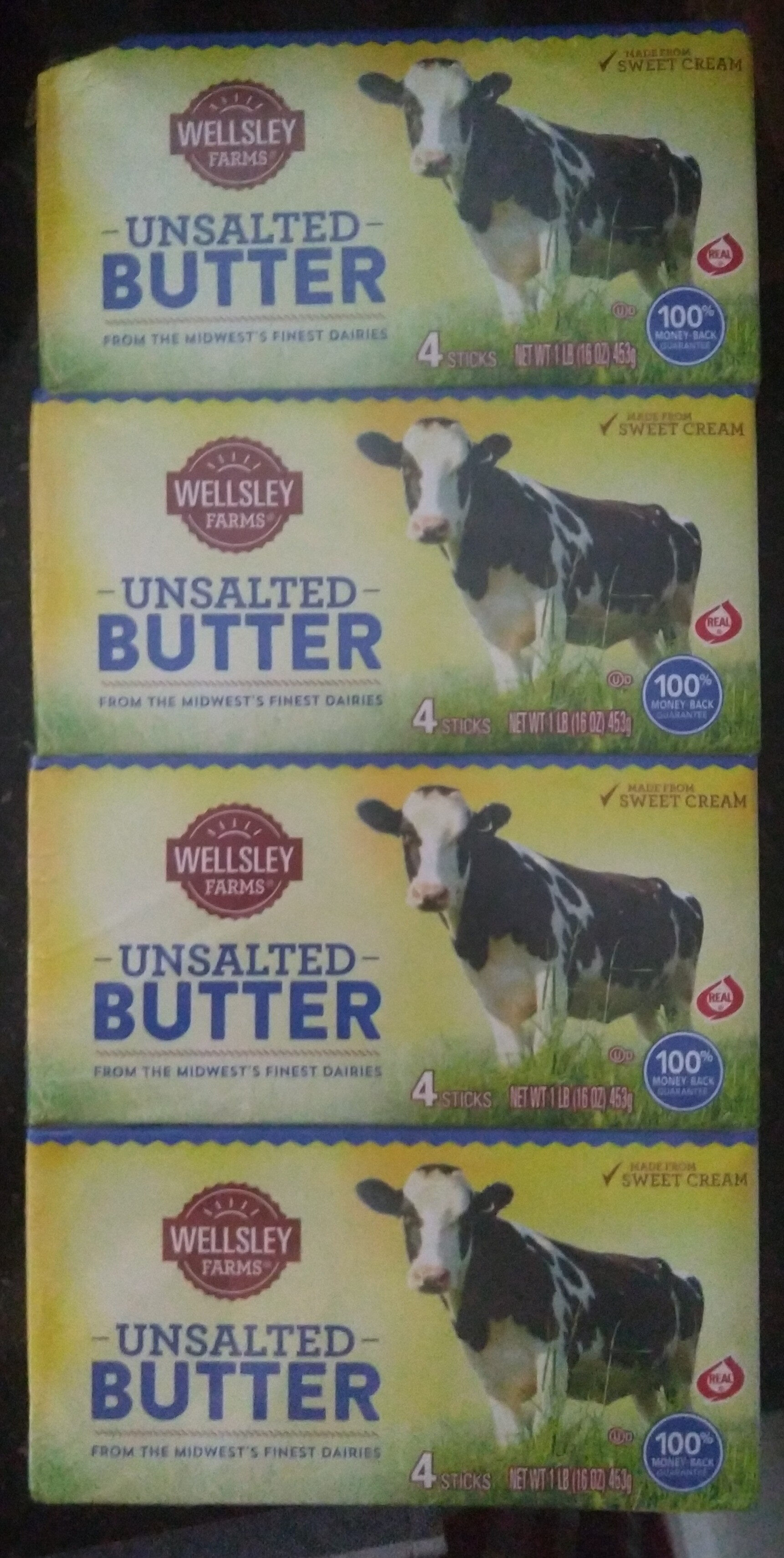 Unsalted butter, unsalted - Product - en