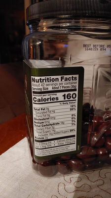 Dark Chocolate Covered Almonds - Informations nutritionnelles - en
