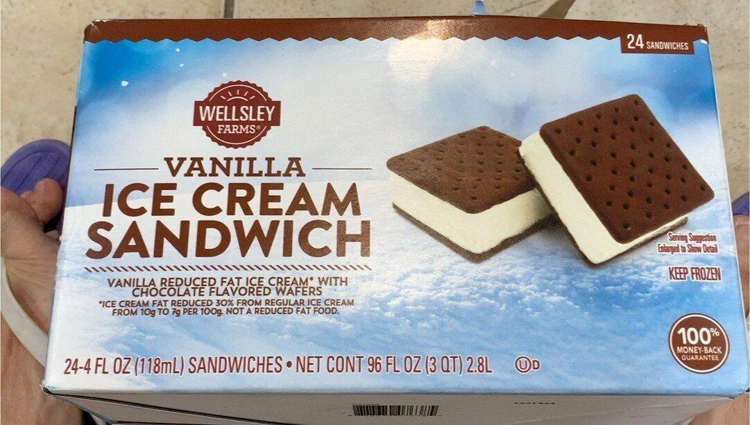 Vanilla ice cream sandwich - Product - en