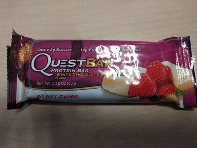 Protein bar white chocolate raspberry protein - Prodotto - en