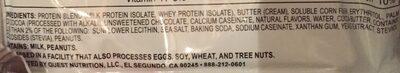 Quest protein cookie double chocolate chip flavour - Ingrédients - fr