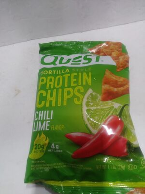 Tortilla style Protein Chips - Chili Lime - Produit - fr