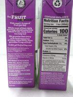 Grape Juice from Concentrate - Ingredienti - en