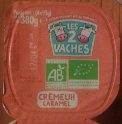 Crèmeuh caramel - Product - fr